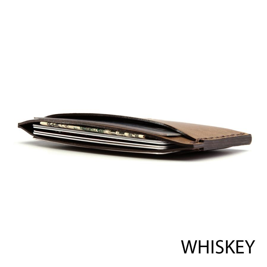Bison No. 3 Wallet in Choice of Chromexcel Leather or English Bridle Leather - Fendrihan Canada - 2