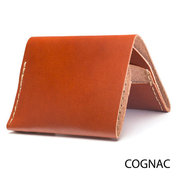 Bison No. 4 Wallet in Choice of Natural Leather or English Bridle Leather by Hermann Oak - Fendrihan Canada - 5