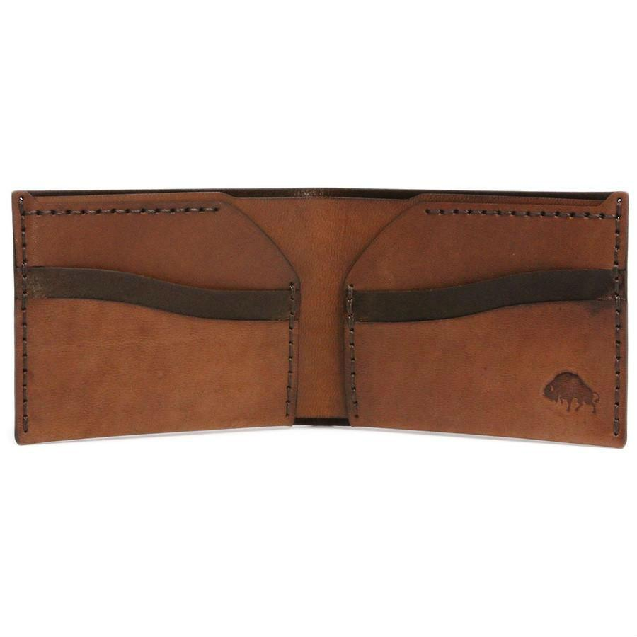 Ezra Arthur No. 6 Wallet in Choice of Chromexcel Leather or English Bridle Leather