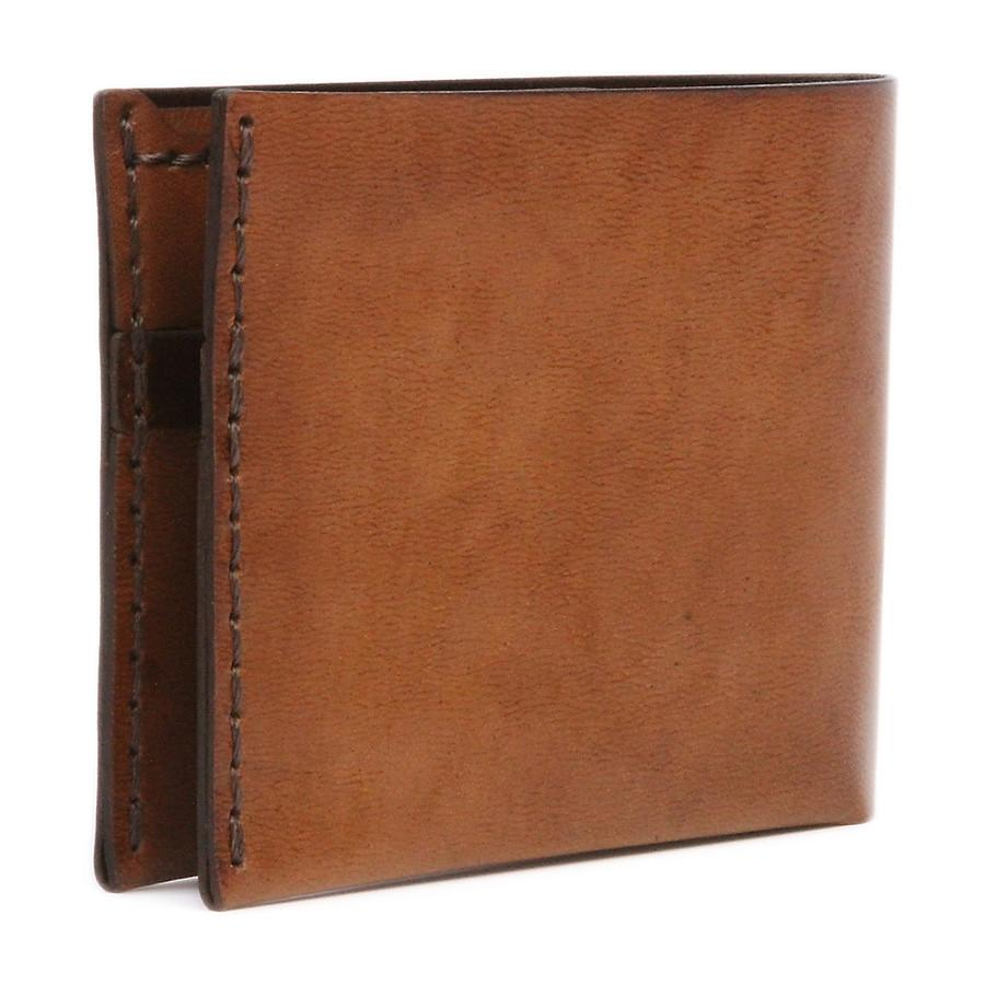 Bison No. 6 Wallet in Choice of Chromexcel Leather or English Bridle Leather - Fendrihan Canada - 3