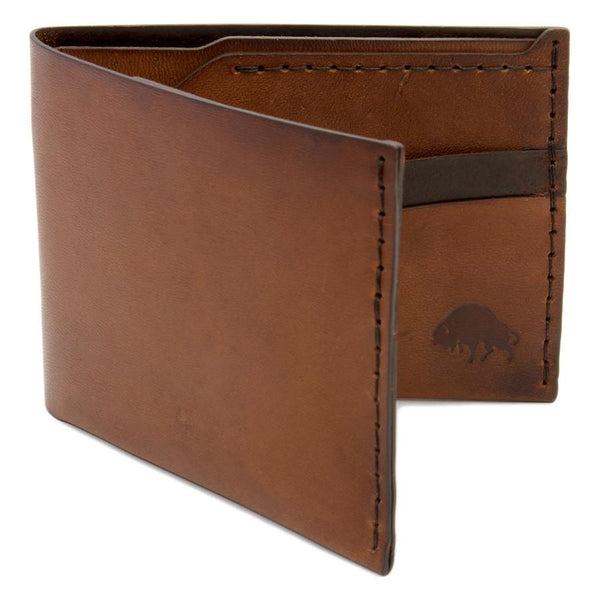 Bison No. 6 Wallet in Choice of Chromexcel Leather or English Bridle Leather - Fendrihan Canada - 2