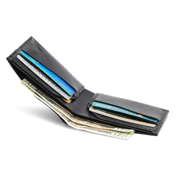 Bison No. 6 Wallet in Choice of Chromexcel Leather or English Bridle Leather - Fendrihan Canada - 9