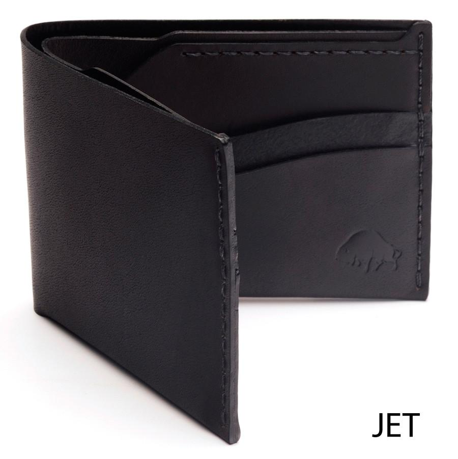 Bison No. 6 Wallet in Choice of Chromexcel Leather or English Bridle Leather - Fendrihan Canada - 8