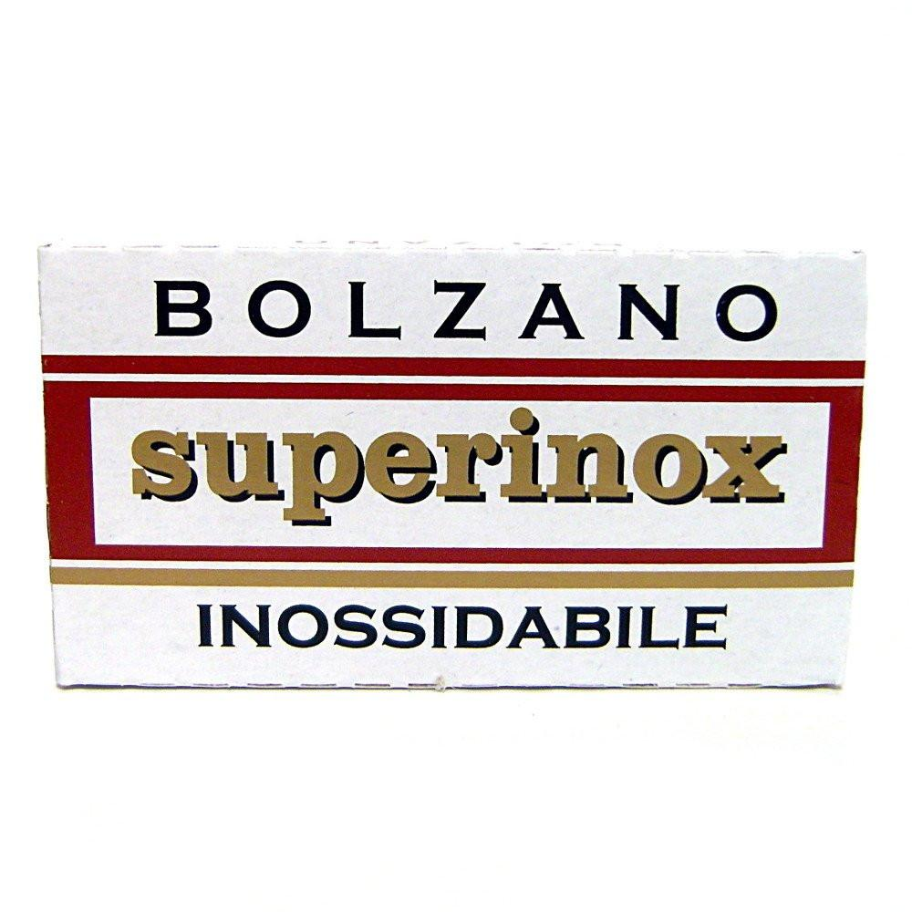 5 Bolzano Superinox Double-Edge Safety Razor Blades - Fendrihan Canada