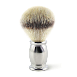 Edwin Jagger Bulbous Line Synthetic Silvertip Fibre Shaving Brush Synthetic Bristles Shaving Brush Edwin Jagger