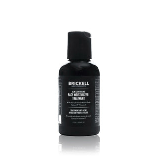Brickell Acne Controlling Face Moisturizer Treatment for Men Face Moisturizer and Toner Brickell