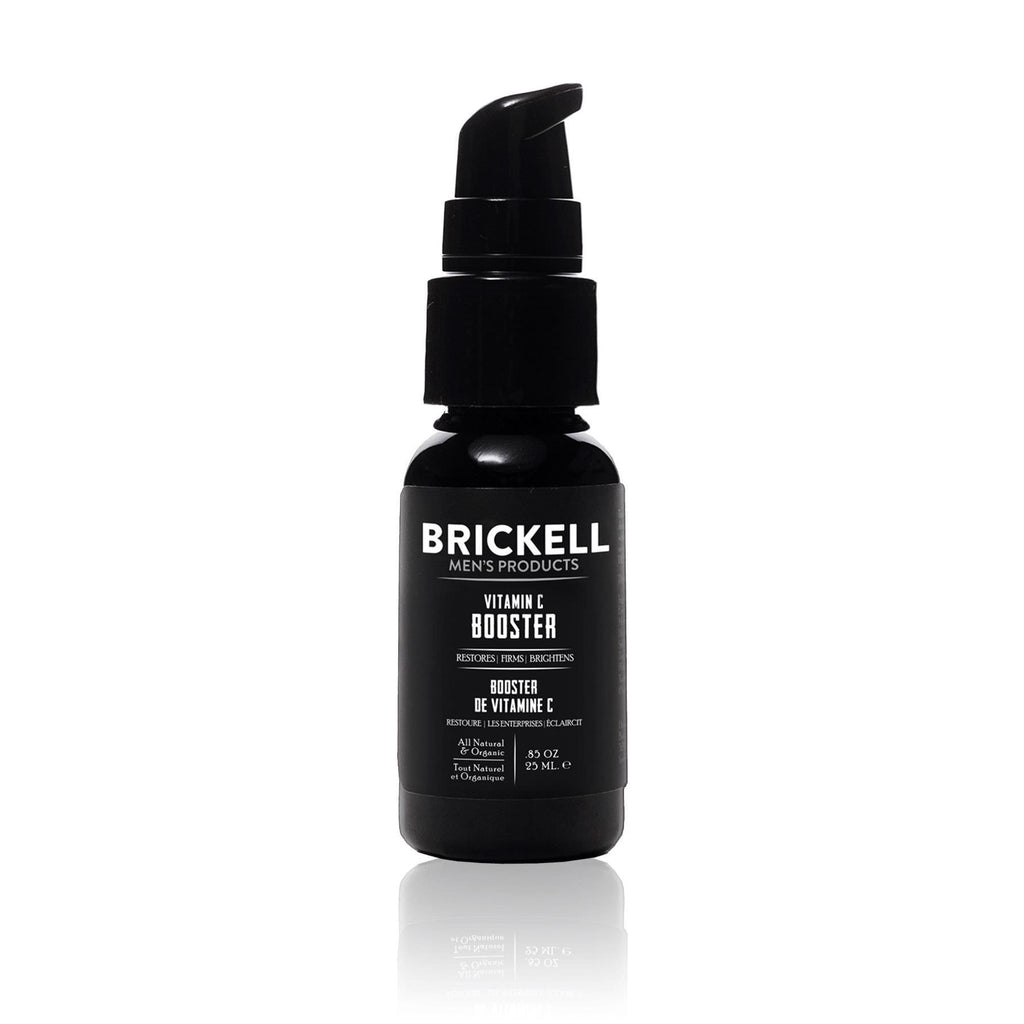Brickell Vitamin C Booster for Men Face Moisturizer and Toner Brickell