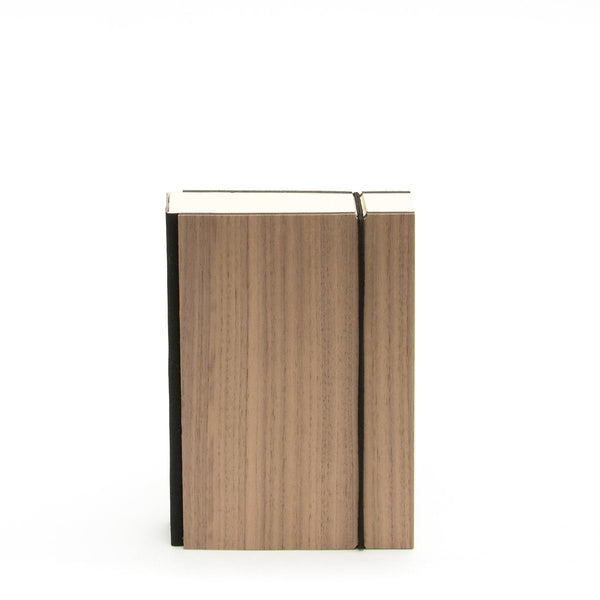Bindewerk Purist Wood Notebook, Walnut
