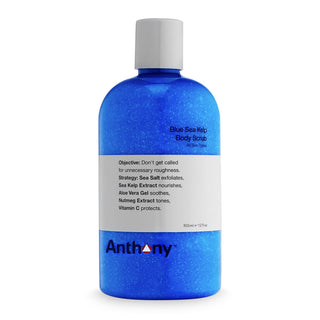 Anthony Blue Sea Kelp Body Scrub Men's Grooming Cream Anthony
