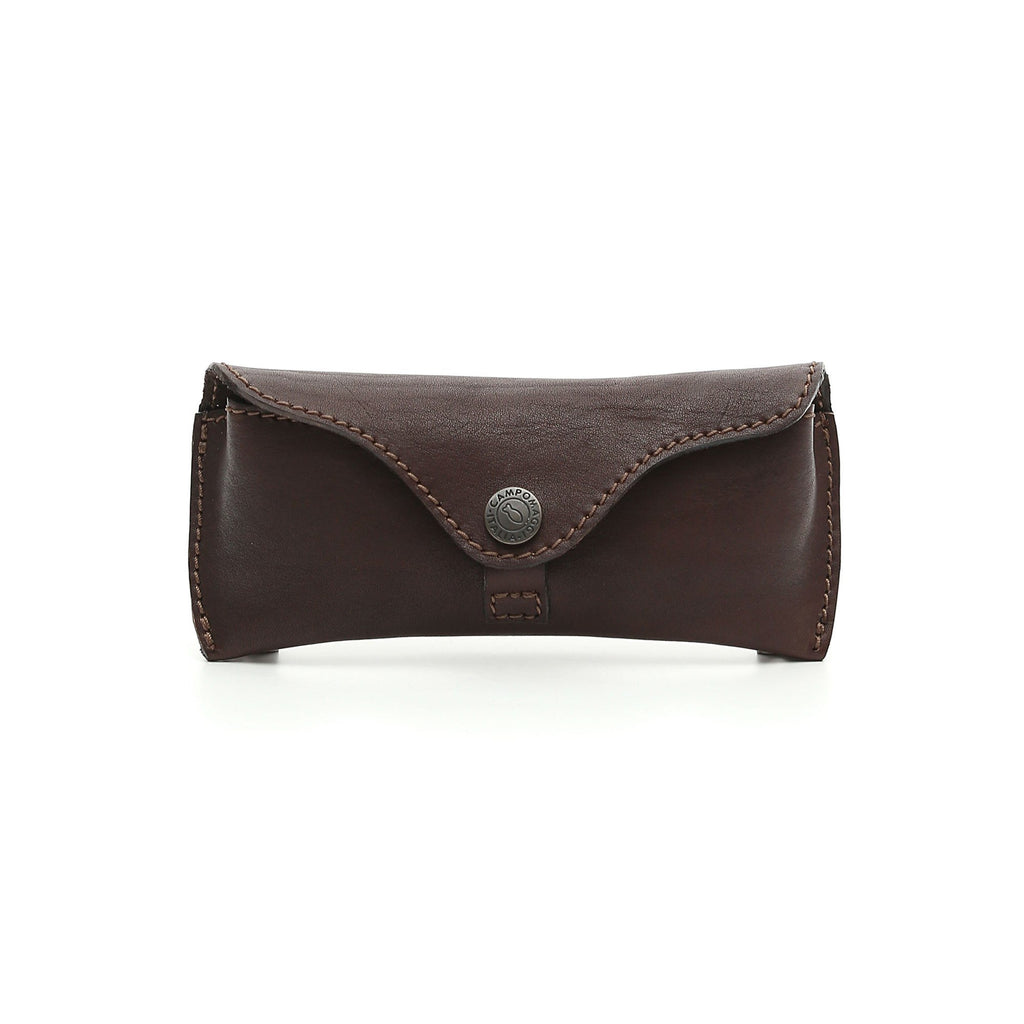 Campomaggi Soft Leather Glasses Case Glasses Case Campomaggi Brown