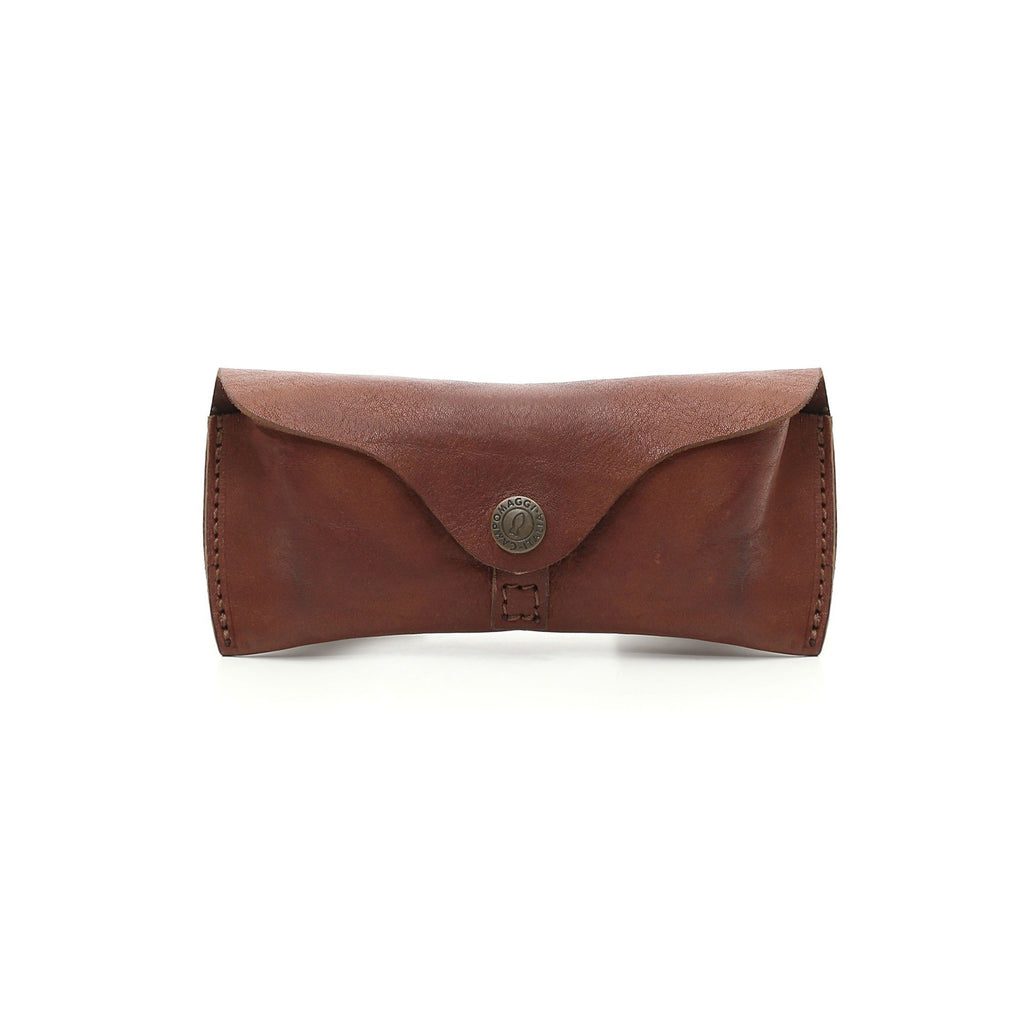 Campomaggi Soft Leather Glasses Case Glasses Case Campomaggi Cognac