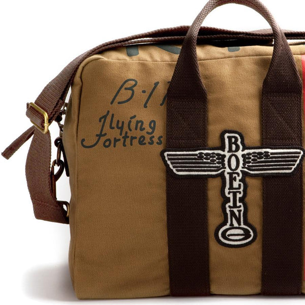 Red Canoe Boeing B17 Twill Kit Bag - Fendrihan Canada - 2