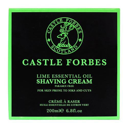 Castle Forbes Lime Oil Shaving Cream - Fendrihan Canada
