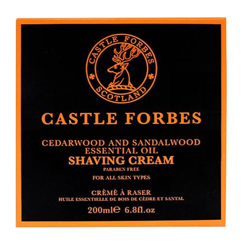 Castle Forbes Cedar and Sandalwood Shaving Cream Shaving Cream Castle Forbes