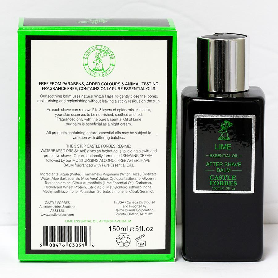 Castle Forbes Lime Aftershave Balm Aftershave Balm Castle Forbes