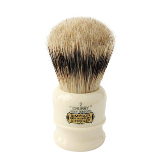 Simpsons Chubby 2 Best Badger Shaving Brush