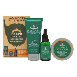 Clubman Pinaud Beard Pack Beard and Moustache Grooming Clubman