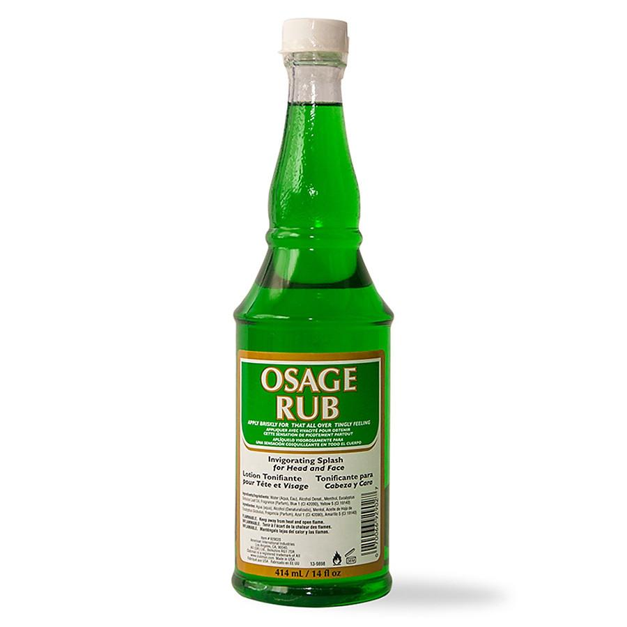 Clubman Jeris Osage Rub Toner Aftershave Remedies Clubman