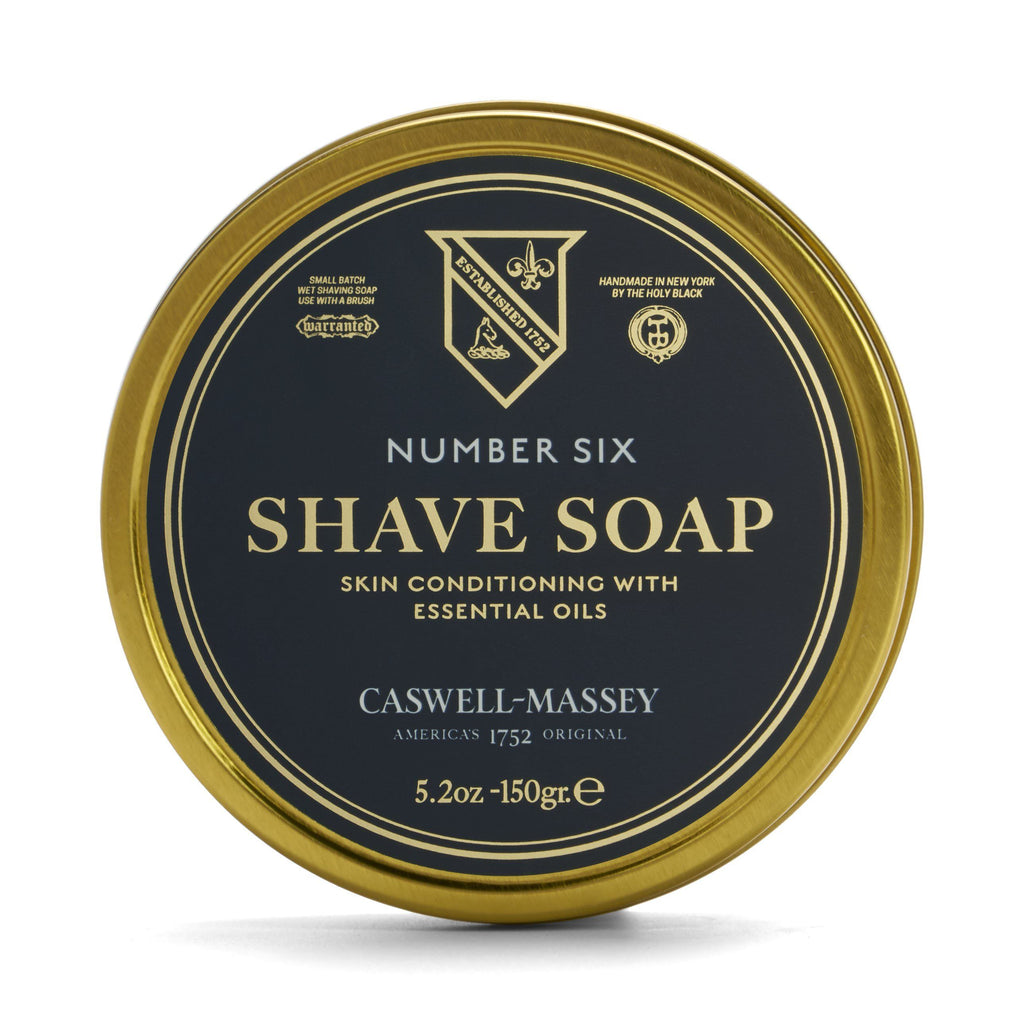 Caswell-Massey Premium Shaving Soap in Tin Shaving Soap Caswell-Massey Number Six