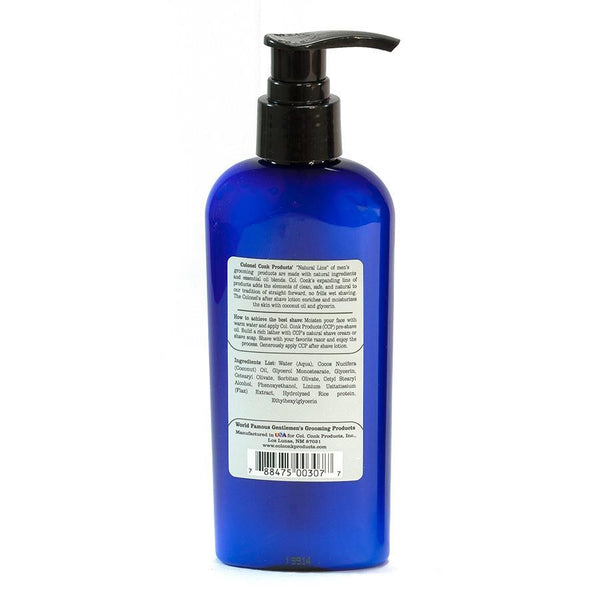 Col Conk Clean Safe Natural After Shave Lotion, Unscented - Fendrihan Canada - 2
