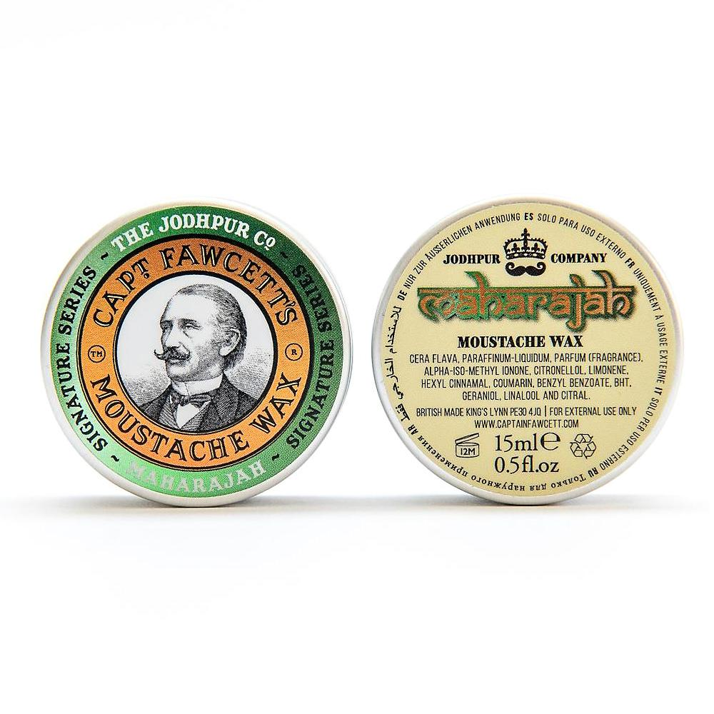 Captain Fawcett Maharajah Moustache Wax Moustache Wax Captain Fawcett