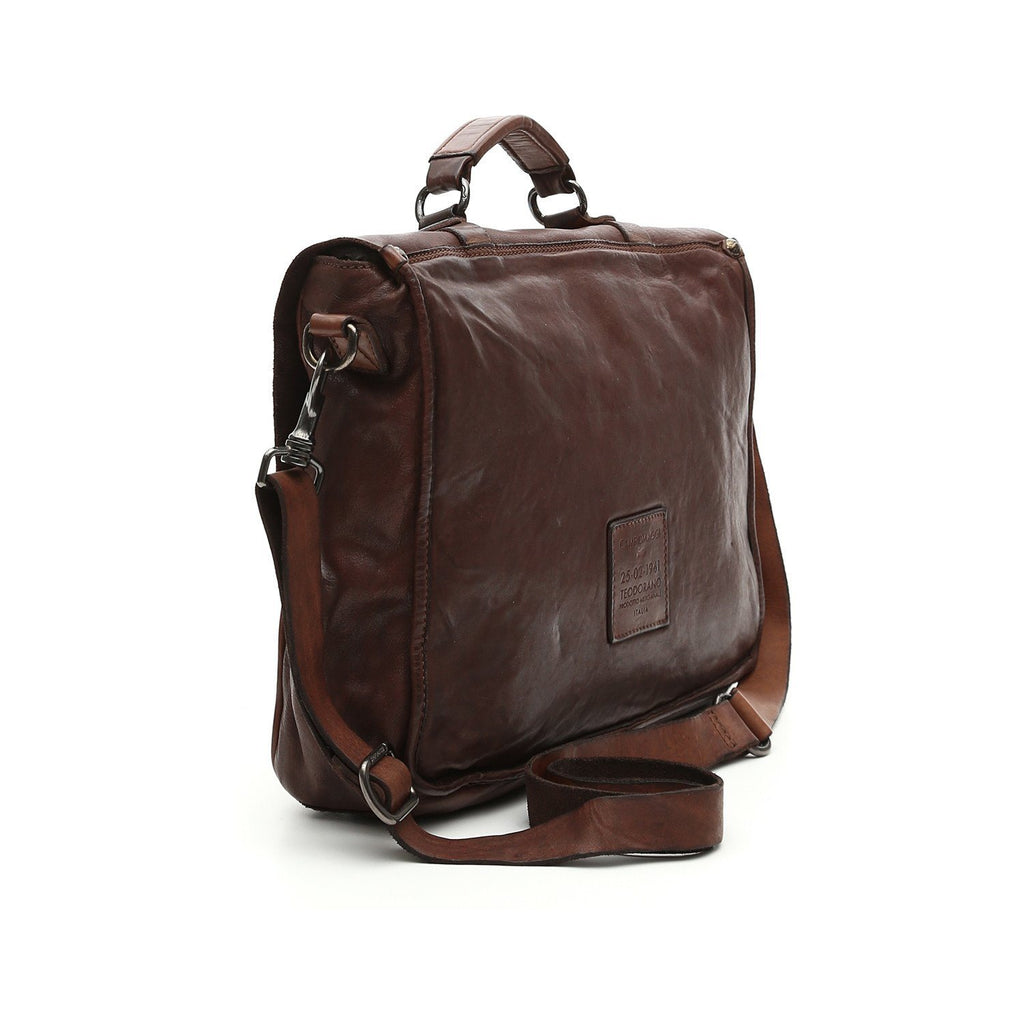 Campomaggi Tokio Leather Professional Carrier Bag Leather Messenger Bag Campomaggi