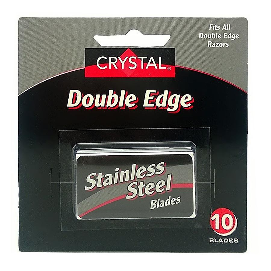 10 Crystal Stainless Steel Double Edge Blades Razor Blades Other