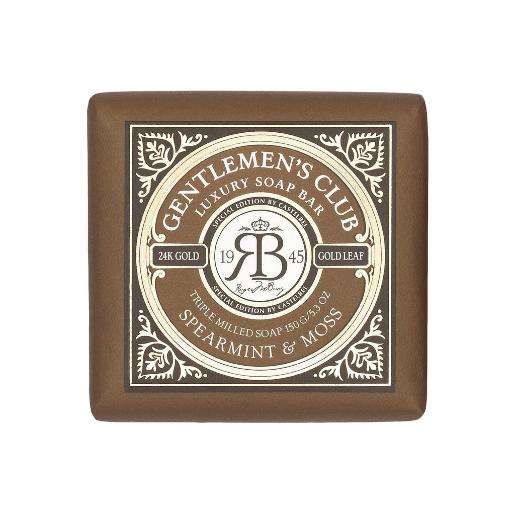 Castelbel Special Edition Gentlemen's Club Soap Bar Body Soap Castelbel Spearmint & Moss