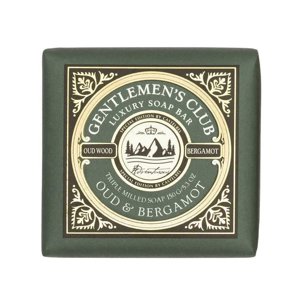 Castelbel Special Edition Gentlemen's Club Soap Bar Body Soap Castelbel Oud & Bergamot