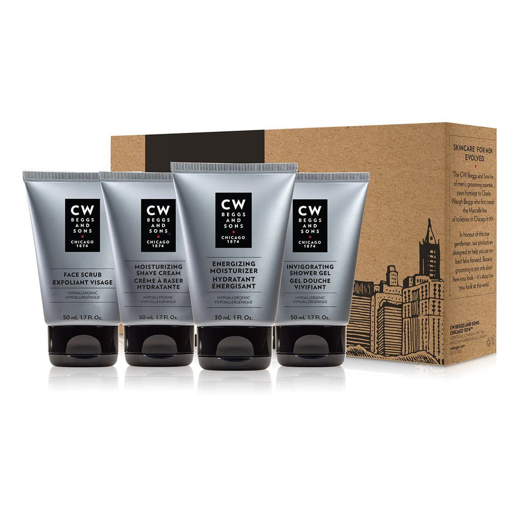 CW Beggs and Sons The Essentials Collection Care Set Men's Grooming Kit CW Beggs and Sons