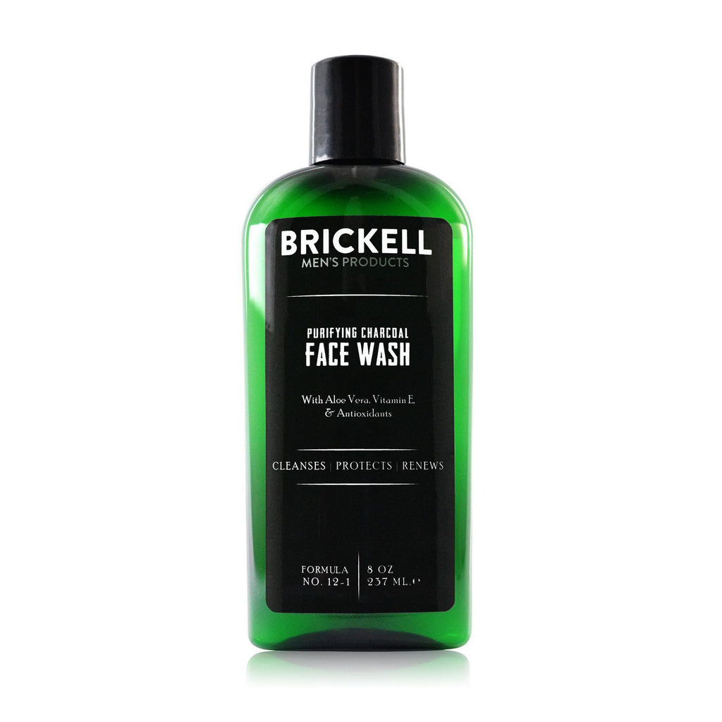 Brickell Purifying Charcoal Face Wash with Aloe Vera Facial Care Brickell