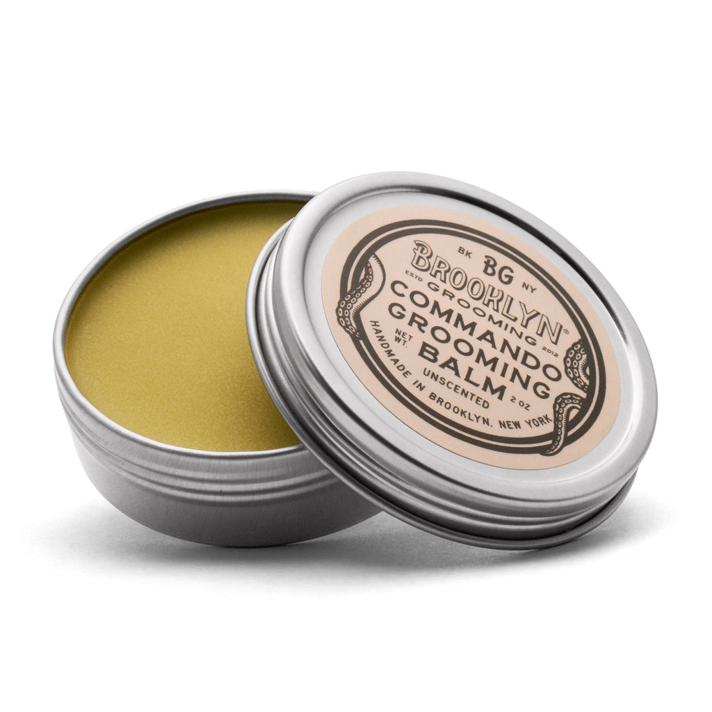Brooklyn Grooming Commando Grooming Balm Beard Balm Brooklyn Grooming Co