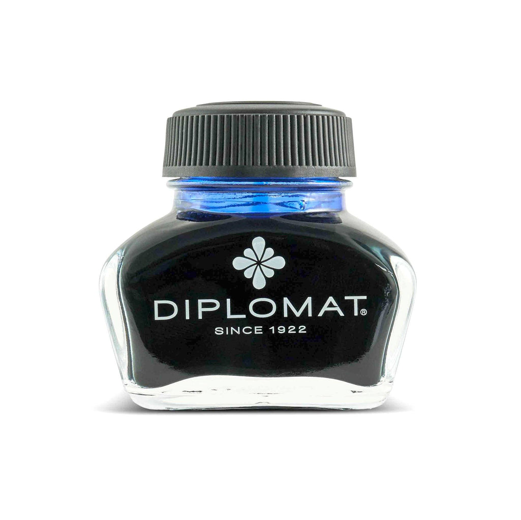 Diplomat Fountain Pen Ink Bottle Ink Refill Diplomat Royal Blue