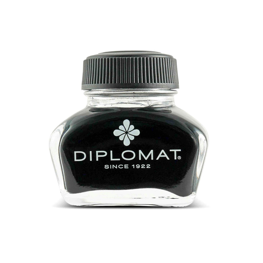 Diplomat Fountain Pen Ink Bottle Ink Refill Diplomat Black