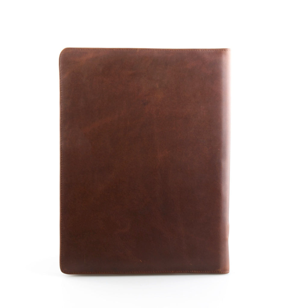 Daines & Hathaway A4 Conference Folder, Brooklyn Chestnut
