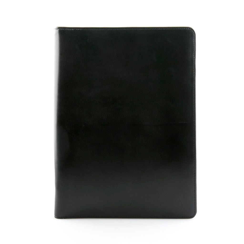 Daines & Hathaway A4 Conference Folder, Bridle Black Leather Conference Folder Daines & Hathaway