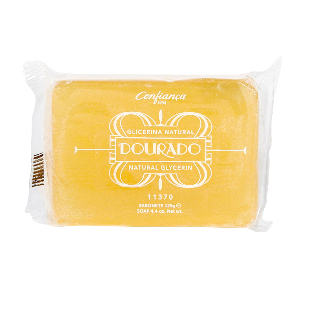 "Confiança Golden Glycerin ""Glicerina Dourado"" Soap Bar Body Soap Confiança"
