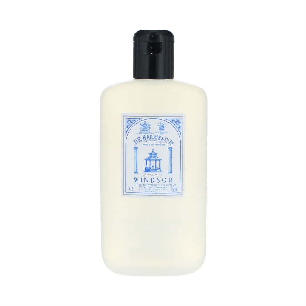 D.R. Harris Windsor Head to Toe Wash Men's Body Wash D.R. Harris & Co 8.4 oz (250 ml)