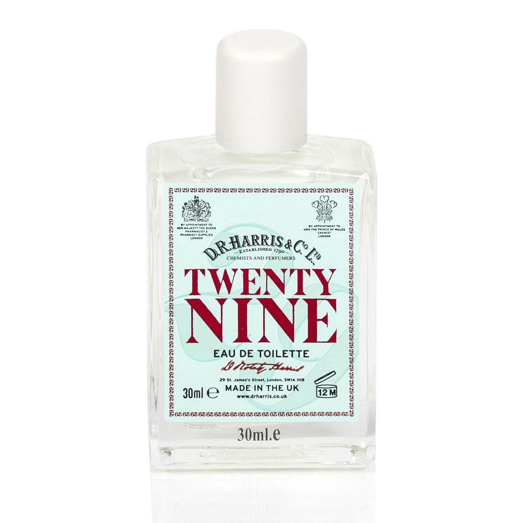 D.R. Harris Twenty Nine Eau de Toilette Men's Fragrance D.R. Harris & Co 30 ml Glass Bottle