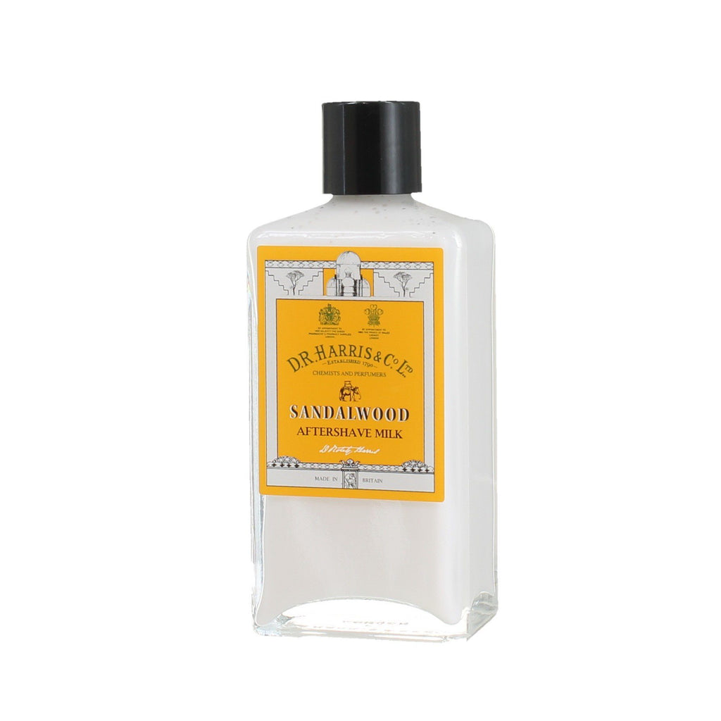 D.R. Harris Sandalwood Aftershave Milk Aftershave Balm D.R. Harris & Co 100 ml Glass Bottle