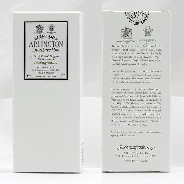 D.R. Harris Arlington Aftershave Milk - Fendrihan Canada - 5