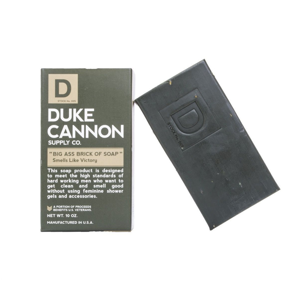 Duke Cannon Supply Co. Big Ass Brick of Soap, Victory (Green Bar) Body Soap Duke Cannon Supply Co