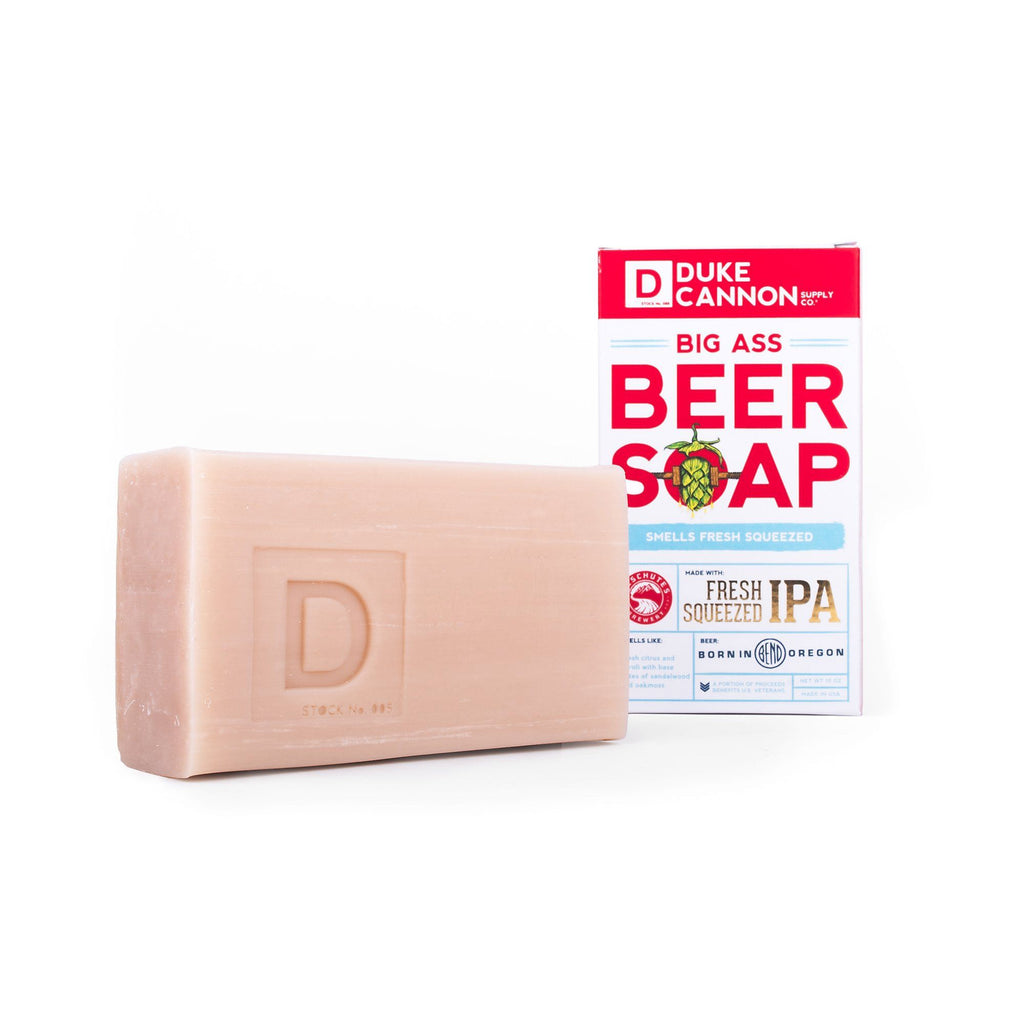 Duke Cannon Big Ass Beer Soap – Deschutes Fresh Squeezed IPA Body Soap Duke Cannon Supply Co
