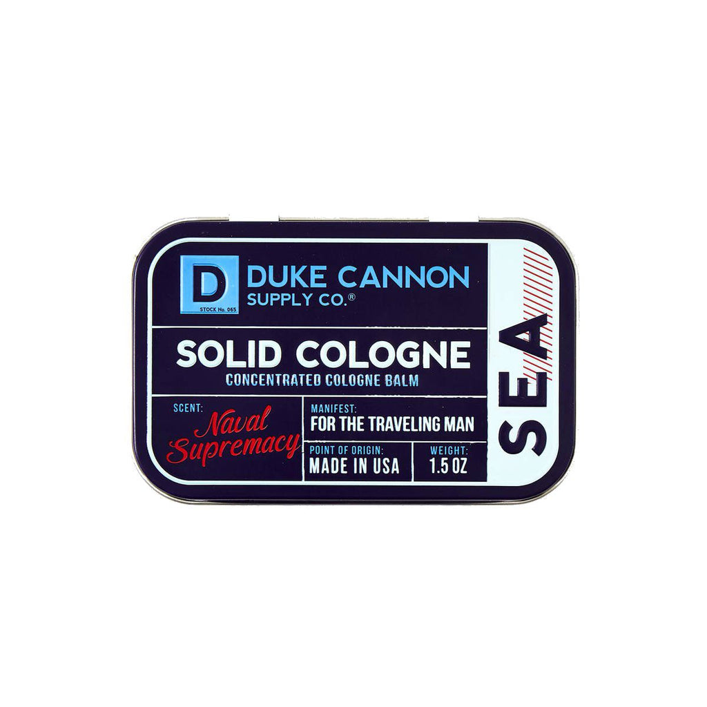 Duke Cannon Supply Co. Solid Cologne Men's Fragrance Duke Cannon Supply Co Sea