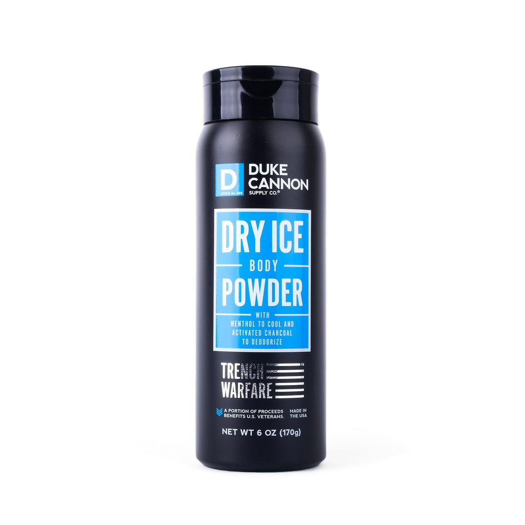 Duke Cannon Trench Warfare Dry Ice Body Powder Talcum Powder Duke Cannon Supply Co