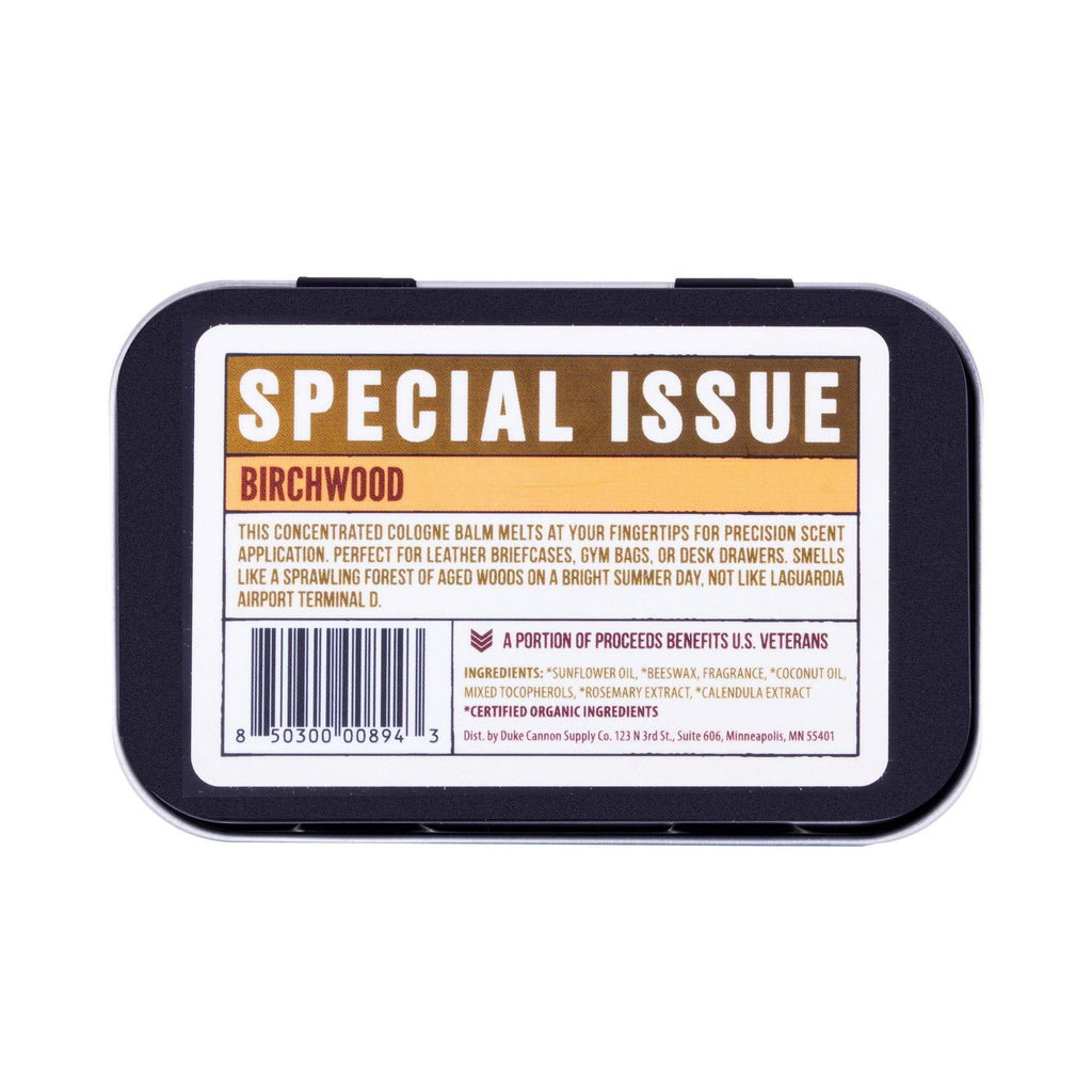Duke Cannon Solid Cologne, Special Issue Men's Fragrance Duke Cannon Supply Co