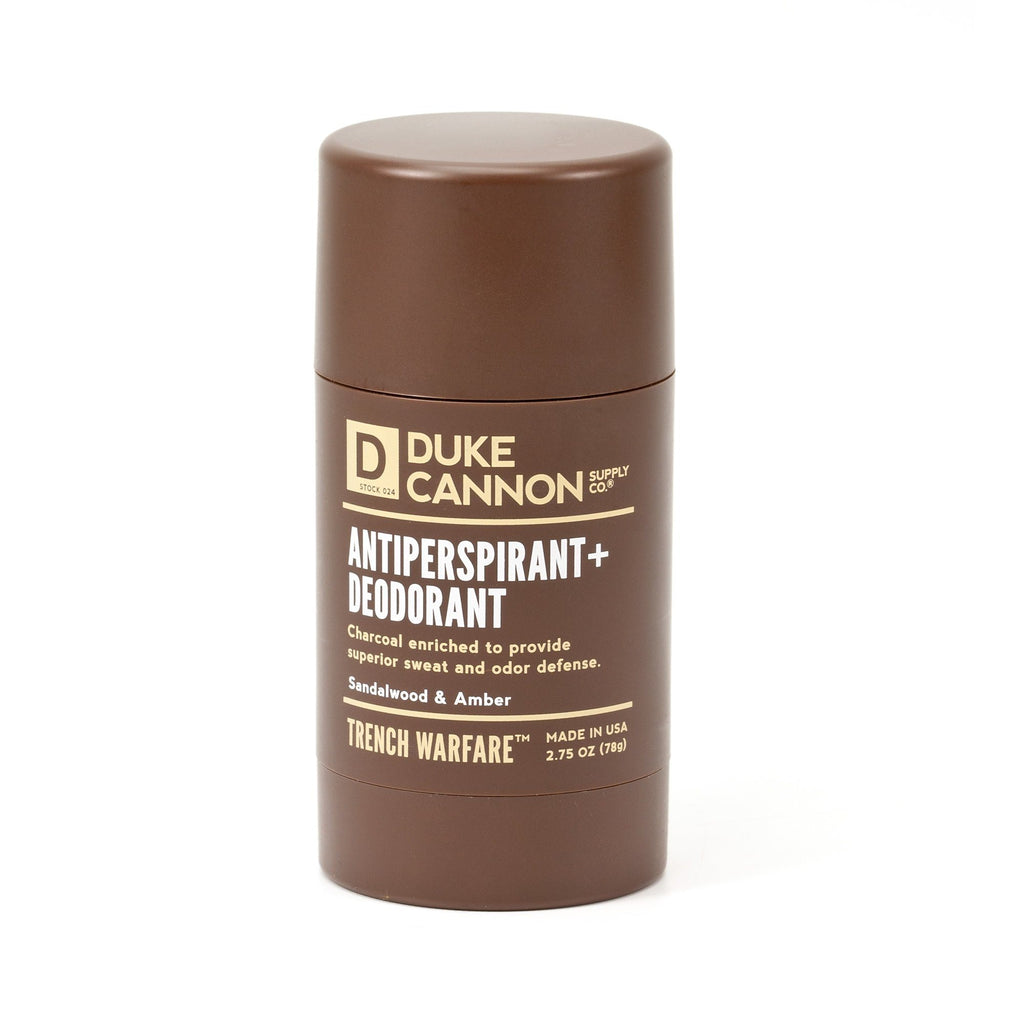 Duke Cannon Trench Warfare Antiperspirant + Deodorant Deodorant Duke Cannon Supply Co Sandalwood & Amber