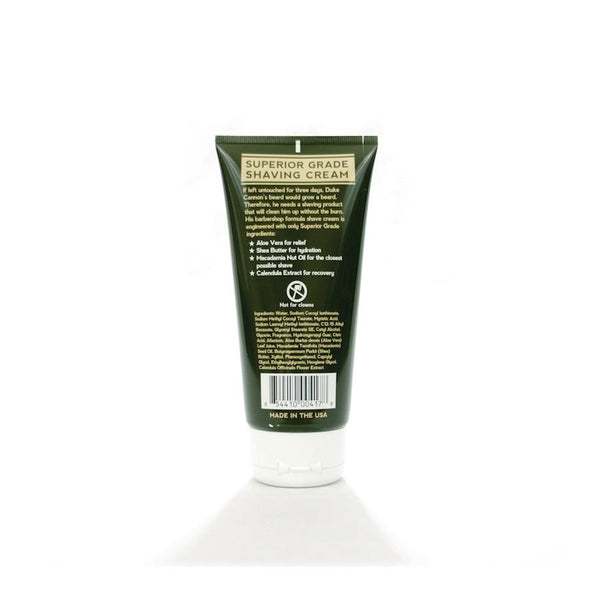 Duke Cannon Supply Co. Superior Grade Shaving Cream - Fendrihan Canada - 2