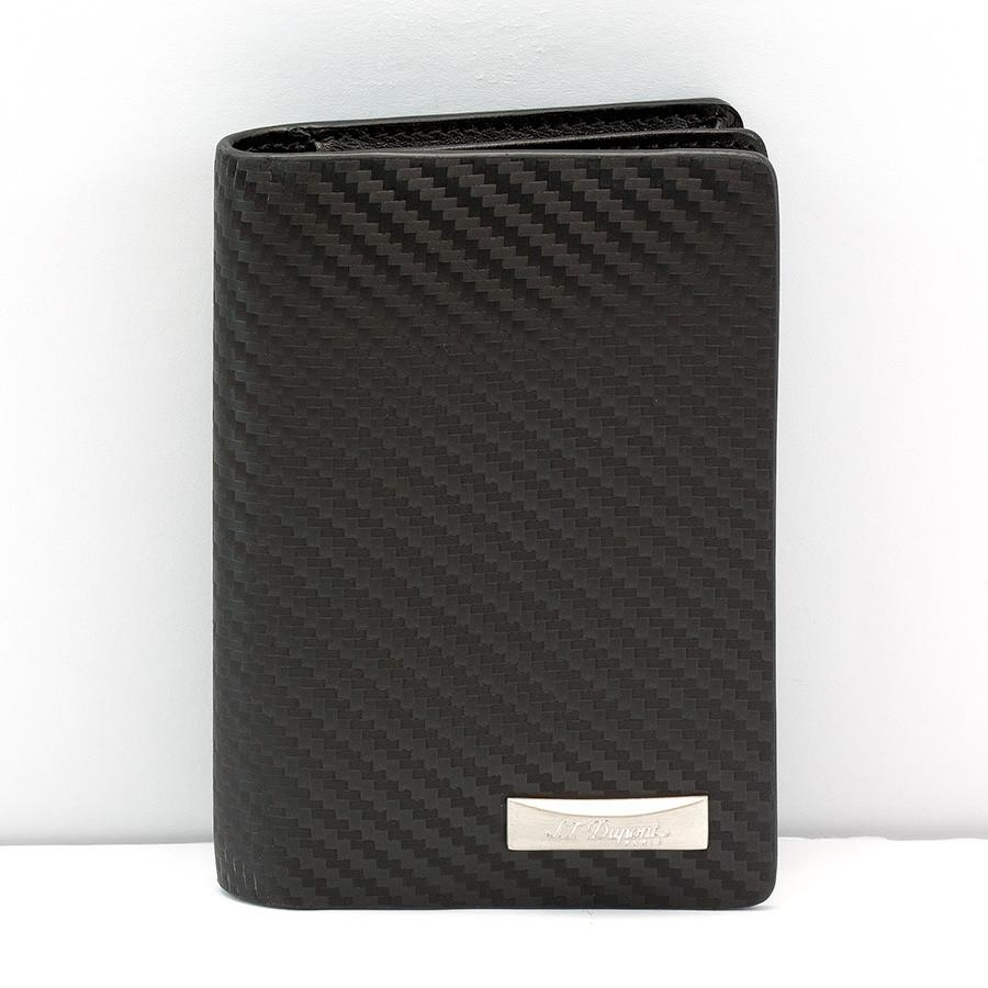 S.T. Dupont Defi Leather Business Card Case, Carbone - Fendrihan Canada