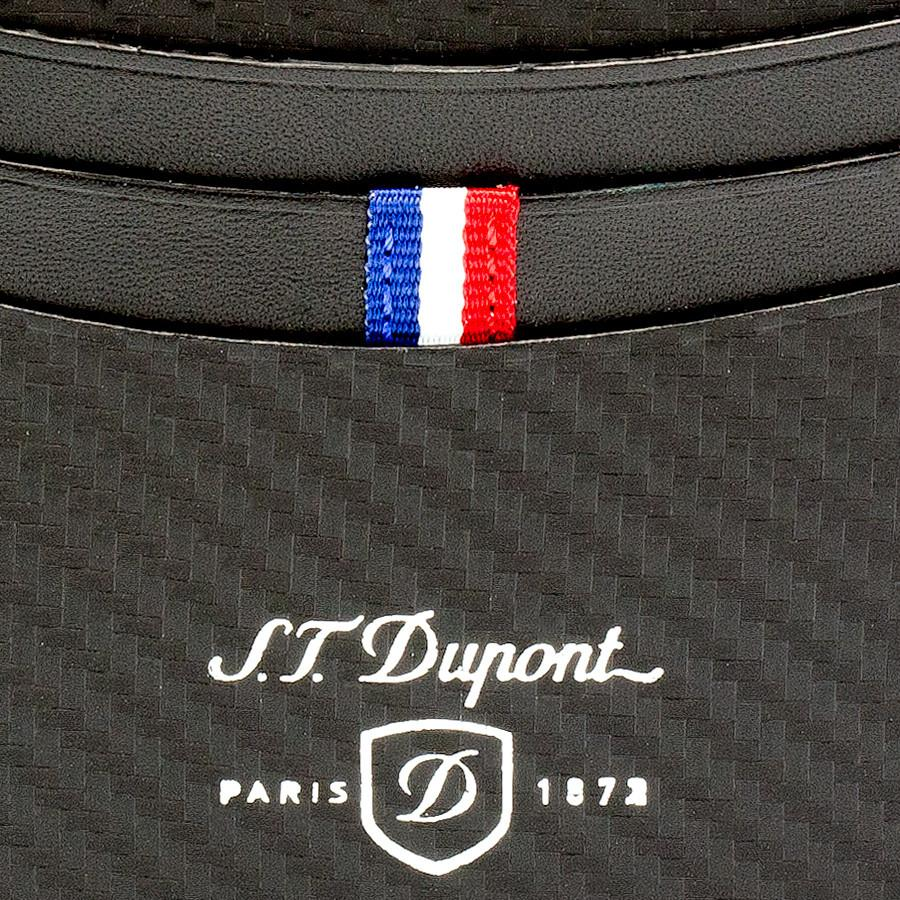 S.T. Dupont Defi Leather Credit Card Case, Carbone - Fendrihan Canada - 5